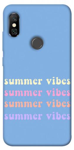 Чехол itsPrint Summer vibes для Xiaomi Redmi Note 6 Pro