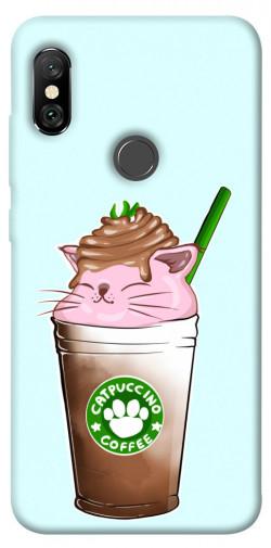 Чехол itsPrint Catpuccino для Xiaomi Redmi Note 6 Pro