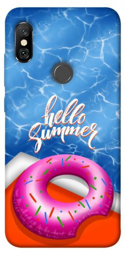Чехол itsPrint Hello summer для Xiaomi Redmi Note 6 Pro