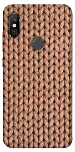 Чехол itsPrint Knitted texture для Xiaomi Redmi Note 6 Pro