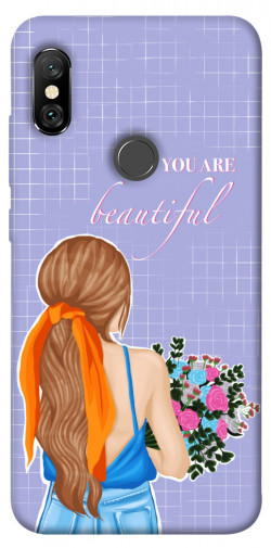 Чехол itsPrint You are beautiful для Xiaomi Redmi Note 6 Pro