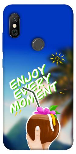 Чехол itsPrint Enjoy moment для Xiaomi Redmi Note 6 Pro