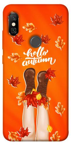 Чехол itsPrint Hello autumn для Xiaomi Redmi Note 6 Pro