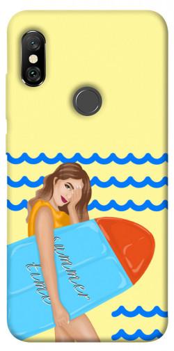 Чехол itsPrint Summer time для Xiaomi Redmi Note 6 Pro