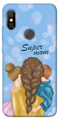 Чехол itsPrint Super mommy для Xiaomi Redmi Note 6 Pro