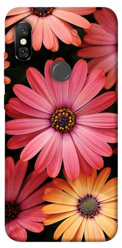 Чехол itsPrint Осенние цветы для Xiaomi Redmi Note 6 Pro