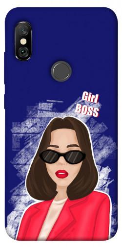 Чехол itsPrint Girl boss для Xiaomi Redmi Note 6 Pro