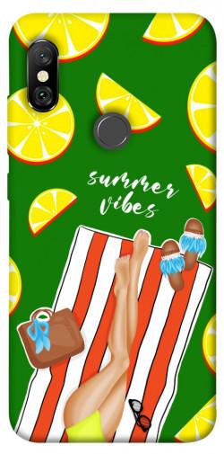 Чехол itsPrint Summer girl для Xiaomi Redmi Note 6 Pro
