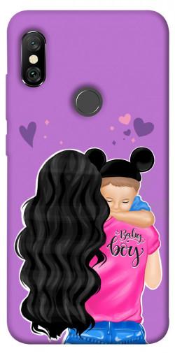Чехол itsPrint Baby boy для Xiaomi Redmi Note 6 Pro