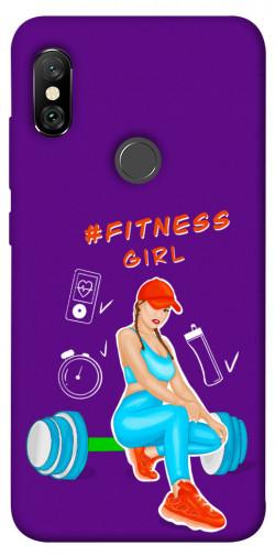Чехол itsPrint Fitness girl для Xiaomi Redmi Note 6 Pro