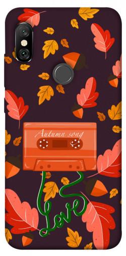Чехол itsPrint Autumn sound для Xiaomi Redmi Note 6 Pro