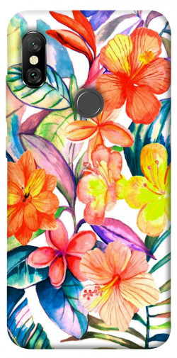 Чехол itsPrint Цветочный коктейль для Xiaomi Redmi Note 6 Pro