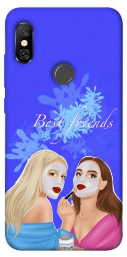 Чехол itsPrint Best friends для Xiaomi Redmi Note 6 Pro