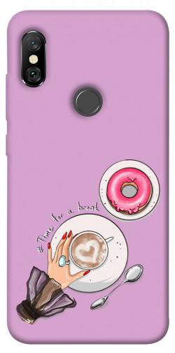 Чехол itsPrint Time for a break для Xiaomi Redmi Note 6 Pro