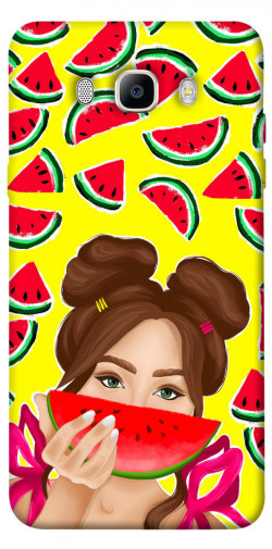 Чехол itsPrint Watermelon girl для Samsung J510F Galaxy J5 (2016)