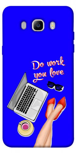Чехол itsPrint Do work you love для Samsung J510F Galaxy J5 (2016)