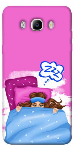 Чехол itsPrint Sleepу girl для Samsung J510F Galaxy J5 (2016)