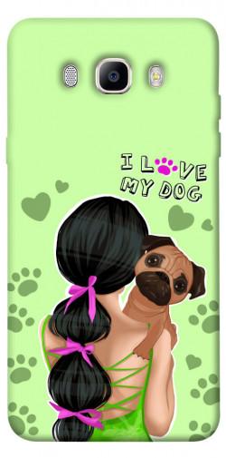 Чехол itsPrint Love my dog для Samsung J510F Galaxy J5 (2016)