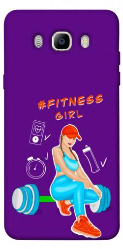 Чехол itsPrint Fitness girl для Samsung J510F Galaxy J5 (2016)