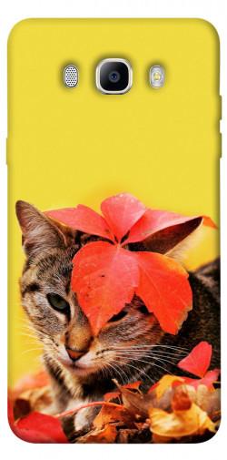 Чехол itsPrint Осенний котик для Samsung J510F Galaxy J5 (2016)