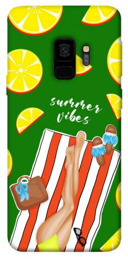Чехол itsPrint Summer girl для Samsung Galaxy S9