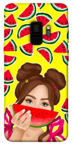 Чехол itsPrint Watermelon girl для Samsung Galaxy S9