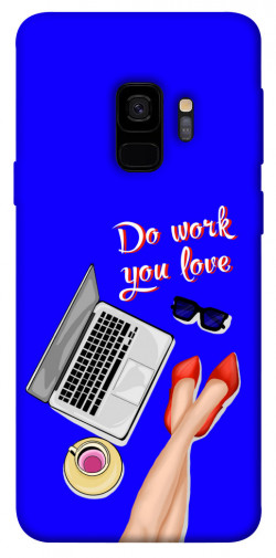 Чехол itsPrint Do work you love для Samsung Galaxy S9