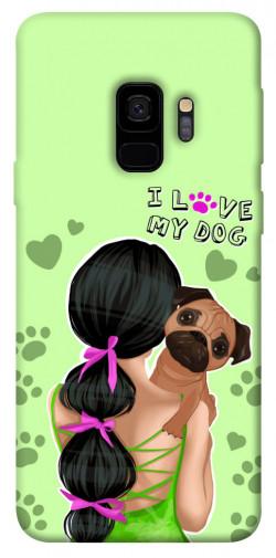 Чехол itsPrint Love my dog для Samsung Galaxy S9