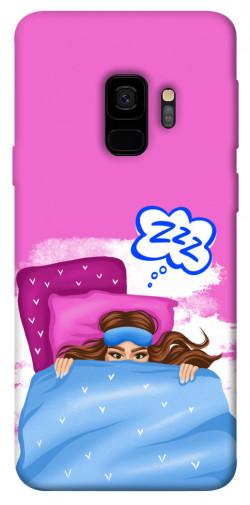 Чехол itsPrint Sleepу girl для Samsung Galaxy S9