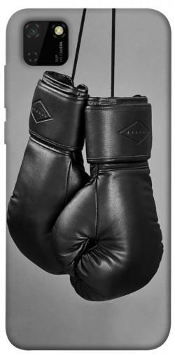 Чехол itsPrint Черные боксерские перчатки для Huawei Y5p