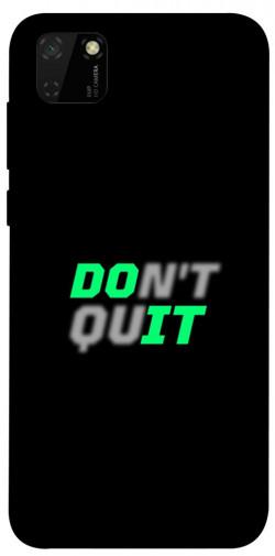 Чехол itsPrint Don't quit для Huawei Y5p