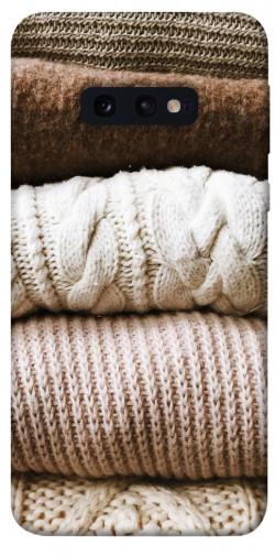 Чехол itsPrint Knitted aesthetics для Samsung Galaxy S10e