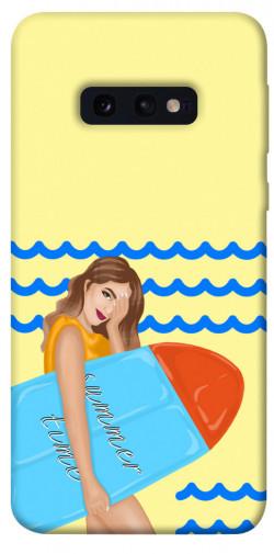 Чехол itsPrint Summer time для Samsung Galaxy S10e
