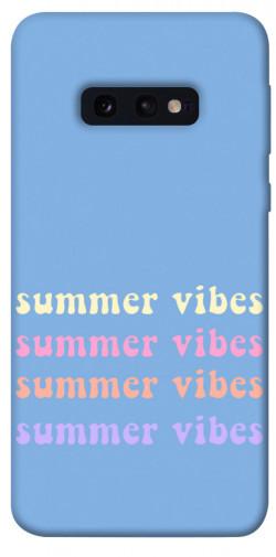 Чехол itsPrint Summer vibes для Samsung Galaxy S10e