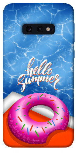 Чехол itsPrint Hello summer для Samsung Galaxy S10e