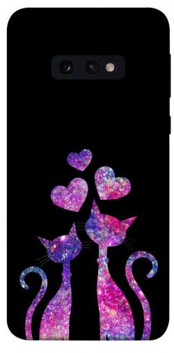 Чехол iPrint Космические коты для Samsung Galaxy S10e