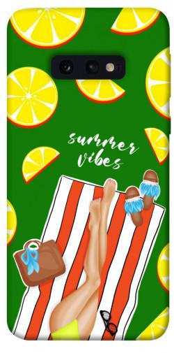 Чехол itsPrint Summer girl для Samsung Galaxy S10e