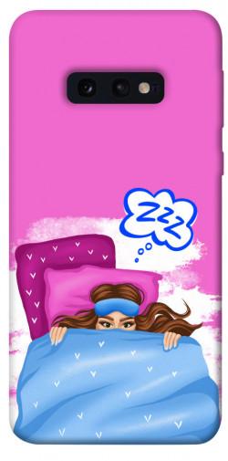 Чехол itsPrint Sleepу girl для Samsung Galaxy S10e