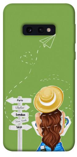 Чехол itsPrint Travel girl для Samsung Galaxy S10e