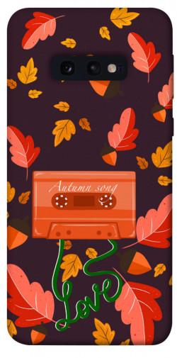 Чехол itsPrint Autumn sound для Samsung Galaxy S10e