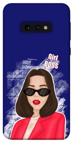 Чехол itsPrint Girl boss для Samsung Galaxy S10e