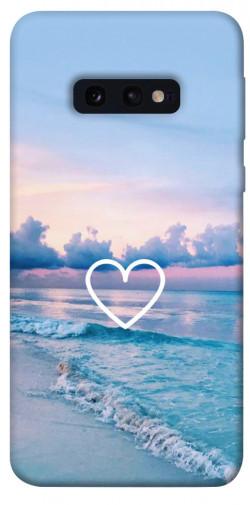Чехол itsPrint Summer heart для Samsung Galaxy S10e