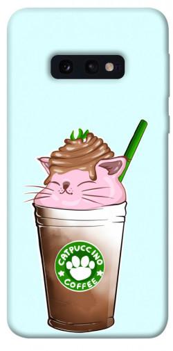 Чехол itsPrint Catpuccino для Samsung Galaxy S10e