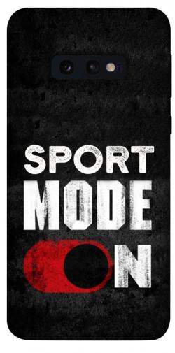 Чехол itsPrint Sport mode on для Samsung Galaxy S10e