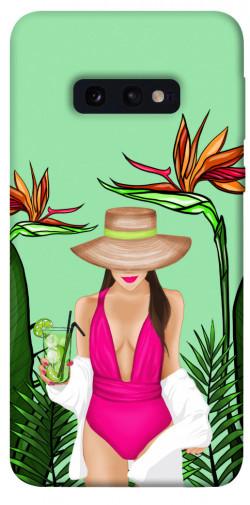 Чехол itsPrint Tropical girl для Samsung Galaxy S10e