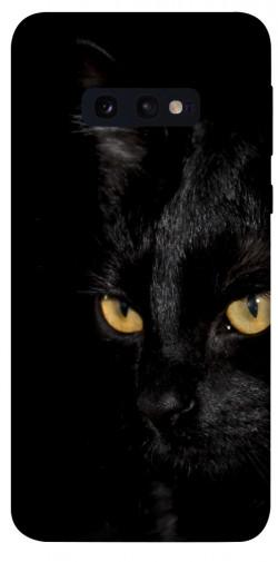 Чехол itsPrint Черный кот для Samsung Galaxy S10e