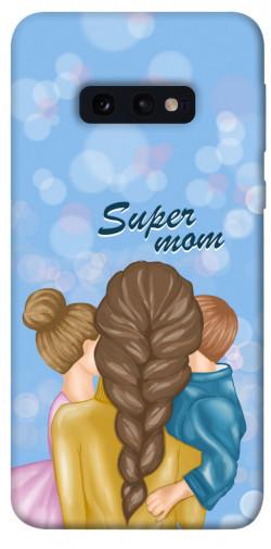 Чехол itsPrint Super mommy для Samsung Galaxy S10e