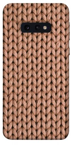 Чехол itsPrint Knitted texture для Samsung Galaxy S10e