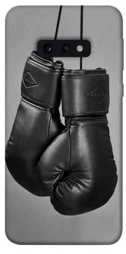 Чехол itsPrint Черные боксерские перчатки для Samsung Galaxy S10e
