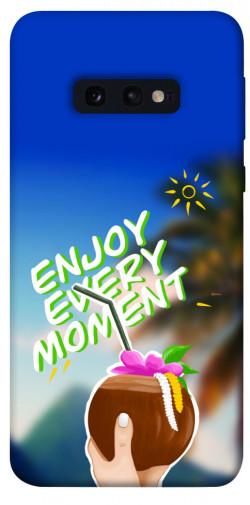 Чехол itsPrint Enjoy moment для Samsung Galaxy S10e